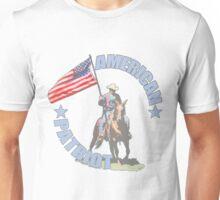 American Patriot Horseman  Unisex T-Shirt