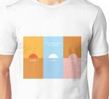 The importance of colour - Sunset Unisex T-Shirt