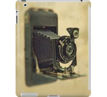 An old bellows camera. iPad Case/Skin