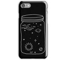 space in a jar iPhone Case/Skin
