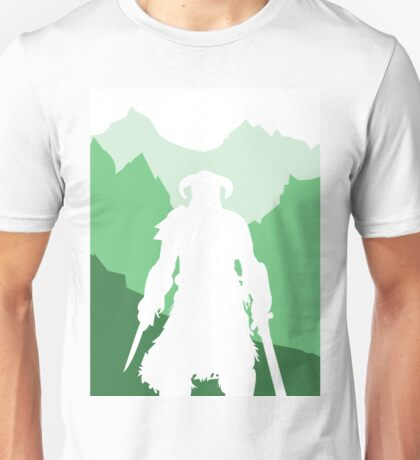 Dragonborn - Green Unisex T-Shirt
