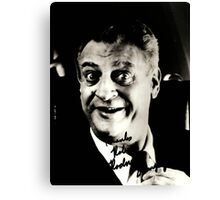 "Rodney Dangerfield Autographed Photo B/W ""Thanks Robert"" Canvas Print"
