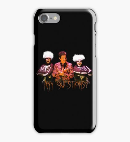 David S. Pumpkins - Any Questions? V iPhone Case/Skin