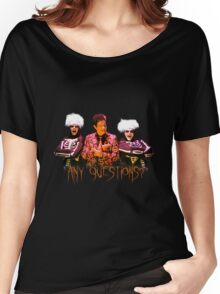 David S. Pumpkins - Any Questions? V Women's Relaxed Fit T-Shirt