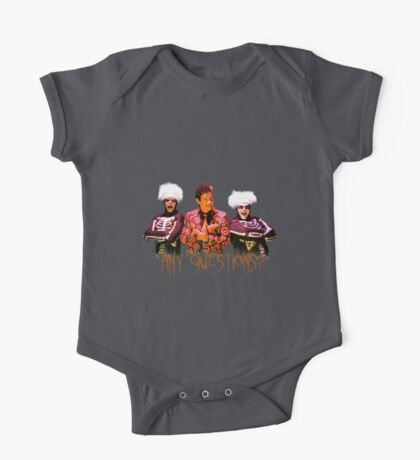 David S. Pumpkins - Any Questions? V One Piece - Short Sleeve