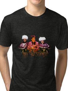 David S. Pumpkins - Any Questions? V Tri-blend T-Shirt
