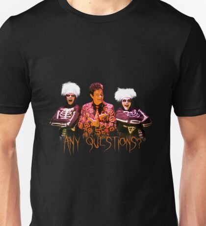 David S. Pumpkins - Any Questions? V Unisex T-Shirt