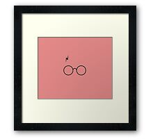 Harry Potter (Glass) Framed Print