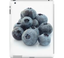 A pile of Blueberries. iPad Case/Skin