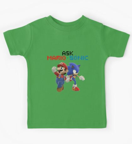 Ask Mario and Sonic #2 Kids Tee