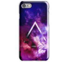 Triangle explode smoke effects iPhone Case/Skin