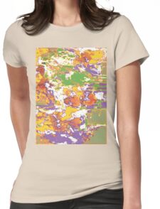 Tropical Funk  Womens Fitted T-Shirt