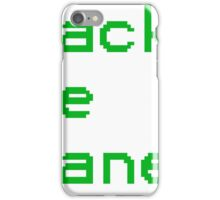 Hack The Planet! iPhone Case/Skin