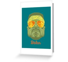 The Big Lebowski Walter Greeting Card