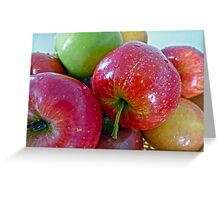 An apple a day...... Greeting Card