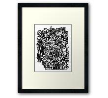 City Stuff Framed Print
