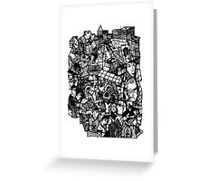 City Stuff Greeting Card