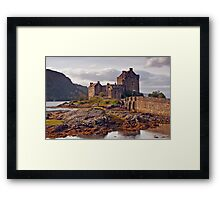 EILEAN DONAN CASTLE , ANOTHER PERSPECTIVE Framed Print