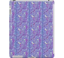 Crescent Moon and Hot Pink Stars iPad Case/Skin