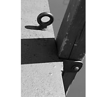 Dock Ring Photographic Print