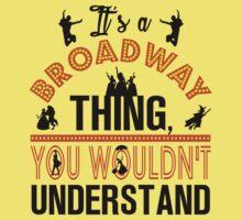 Broadway Shirt. Kids Tee