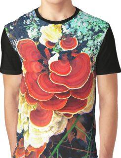 False Turkeytails Graphic T-Shirt