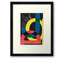 Juggle - Definition  Framed Print