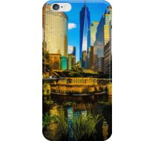 The Sunset Colors Of Battery Park City iPhone Case/Skin