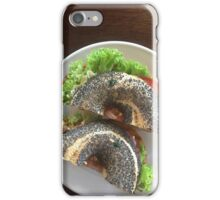 Filled Poppy Seed Bagel iPhone Case/Skin