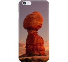 Balanced Rock at sunset iPhone Case/Skin