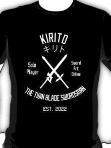 The Twin Blade Swordsman (White) T-Shirt