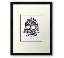 21 Darth Vaders Framed Print