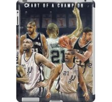 Heart of A champion iPad Case/Skin
