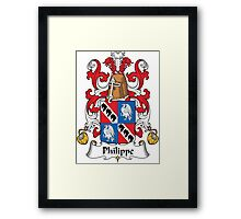 Philippe Coat of Arms II (French) Framed Print