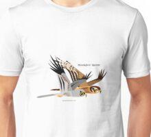 Montagu's Harrier caricature Unisex T-Shirt