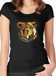 Robust bear cyber Women's Fitted Scoop T-Shirt