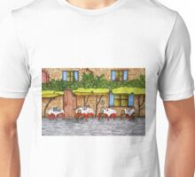 Table For Three Unisex T-Shirt