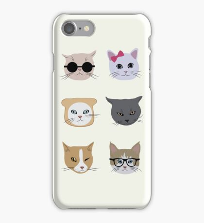 Cool cats iPhone Case/Skin