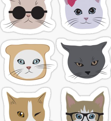 Cool cats Sticker