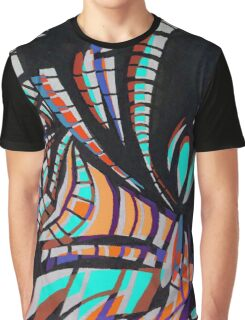 10th street print Graphic T-Shirt