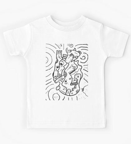 Psychedelic Animals Kids Tee
