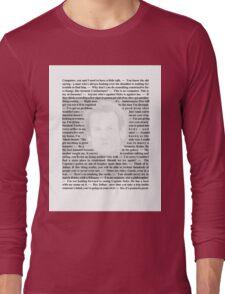 Star Trek Deep Space Nine - Quotes of Miles O'Brien Long Sleeve T-Shirt