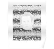 Star Trek Deep Space Nine - Quotes of Miles O'Brien Poster