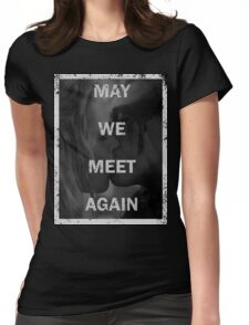 Clexa - The 100 - May we meet again Womens Fitted T-Shirt