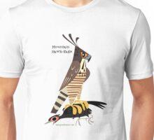 Mountain Hawk-Eagle caricature Unisex T-Shirt