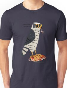 Northern Goshawk caricature Unisex T-Shirt