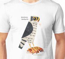 Northern Goshawk caricature Unisex T-Shirt