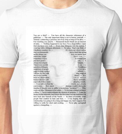 Star Trek Deep Space Nine - Quotes of Odo Unisex T-Shirt