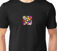 Colored Stained Glass Unisex T-Shirt