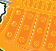 Creamsicle Dalek Sticker